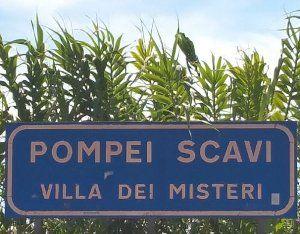 Gare de Pompei Scavi -
