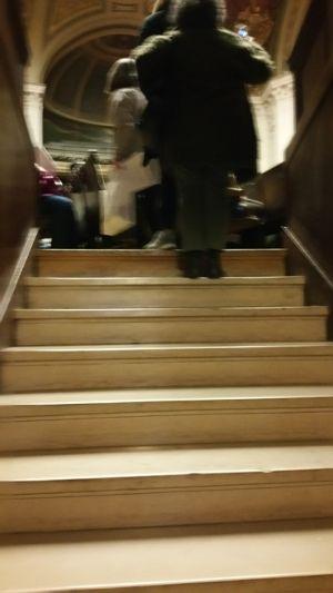 Accès à l'enceinte du Grand Amphi de la Sorbonne